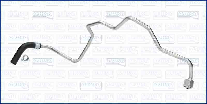 Turbo Oil Feed Pipe Line For AUDI A3 TDI 16V 2.0 170 BHP (3/2006-5/2007)