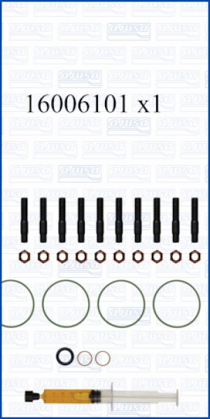 Turbo Gasket Fitting Kit BMW 118i 16V 170 N13B16AM0 (2013-2013)