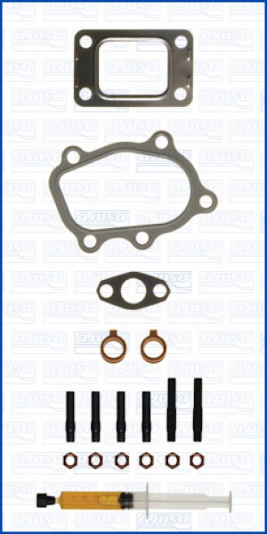 Turbo Gasket Fitting Kit NISSAN 200 SX TURBO 16V 200 SR20DET (11/2000-12/2003)