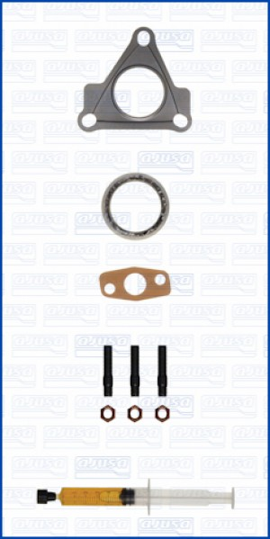 Turbo Gasket Fitting Kit SMART FORTWO PINK FEVER 102 132.930 (7/2010-)