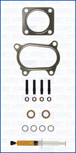 Turbo Gasket Fitting Kit FIAT 500 ABARTH 16V 135 312A1.000 (8/2008-)