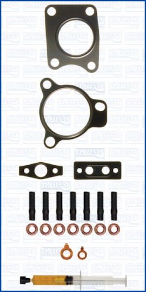 Turbo Gasket Fitting Kit MAZDA CX-7 MZR 16V 163 R2AA (1/2012-)
