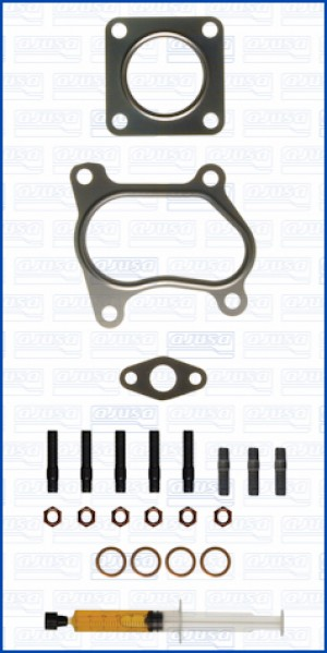 Turbo Gasket Fitting Kit MAZDA B 2500 TD 4WD 109 MD25TI (6/1999-7/2006)