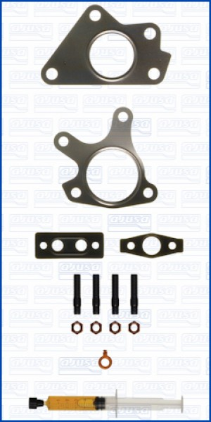 Turbo Gasket Fitting Kit MAZDA MAZDA 6 CROSS MZR 16V 140 RF7J (2/2008-)